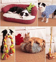 PET Sewing Pattern  Dog Beds Pets Toys Dogs Coat @patterns4you