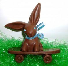 Easter Skateboard Bunny $20
