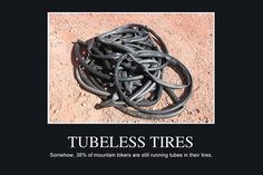 Somehow, 38% of Mountain Bikers Are Still Running Tubes (According to a survey of 4,000+ riders) #mtb