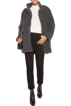 Tabitha faux fur coat   IRIS AND INK   Sale up to 70% off   THE OUTNET