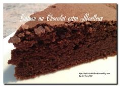 Ingredients: 200 g Nestlé dark chocolate 100 g butter 4 large eggs (or 5 small) 140 g caster sugar ½ sachet baking powder 100 g flour 4 to 5 tablespoons milk Preparation … Fall Dessert Recipes, Cake Recipes, Snack Recipes, Apfel Snacks, Fluffy Chocolate Cake, Chocolate Desserts, Gula, Cake & Co, Cake Trends