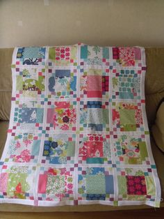 Moda Bake Shop: Criss Cross Quilt