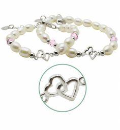 Mum & Me Silver Bracelet 'You & Me forever'