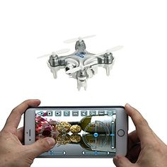 oneCase Cheerson CX-10W 4CH 2.4GHz iOS / Android APP Wifi Romote Control RC FPV Real Time Video Mini Quadcopter Helicopter Drone UFO with 0.3MP HD Camera, 6 Axis Gyro - Silver https://www.safetygearhq.com/product/trending-products/drones/onecase-cheerson-cx-10w-4ch-2-4ghz-ios-android-app-wifi-romote-control-rc-fpv-real-time-video-mini-quadcopter-helicopter-drone-ufo-with-0-3mp-hd-camera-6-axis-gyro-silver/