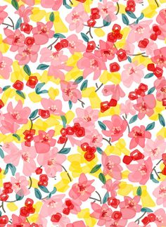 Spring floral by Frameless