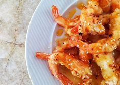 Γαρίδες τεμπούρα με γλυκόξινη σάλτσα!!! συνταγή από τον/την Eleni S 🍋 - Cookpad Shrimp, Meat, Recipes, Food, Essen, Meals, Ripped Recipes, Yemek, Eten