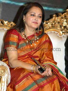 Jewellery Designs: Jayapradha Designer Set with Pearls