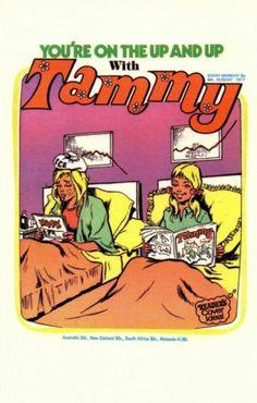 0822 Postcard Tammy 70s Girls' Comic Aug 1977 | eBay