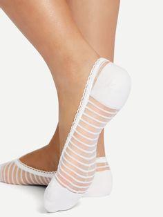 Grip Socks, Foot Socks, Ankle Socks, Women's Socks, Teen Girl Outfits, Girls Fashion Clothes, Sexy Socks, Lace Socks, Barefoot Shoes