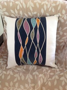 Looking for quilting project inspiration? Check out Recycled Denim Sew Creative by member Julie Wager.