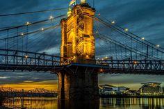Suspension Bridge Cincinnati, OH