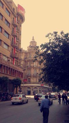 Downtown Cairo, Egypt.