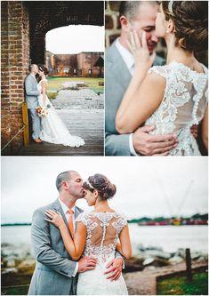 Bohemian Fort Jackson Savannah Wedding Photographer