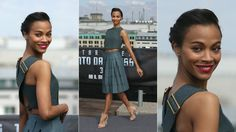 Stop being perfect! Zoe Saldana Sets Her Phasers to Stun