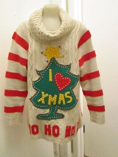 Hmm, ugly sweater party, DIY possibly?