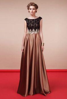 Платье из атласа | Cocktail dress