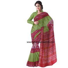 Maniabandha - Famous For IKAT Designs: Online Shopping Manibandha Pure cotton saree