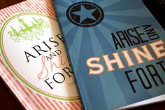 YW Arise and Shine Forth journals