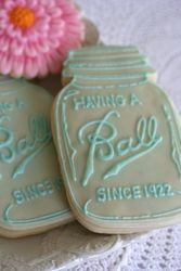 Having A Ball 90th Birthday Party - Vintage Mason Jars