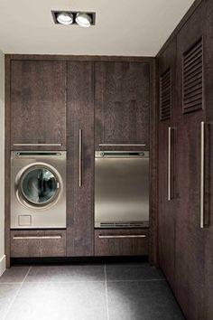DUTCH Kitchens: MODERN style - contemporary - Laundry Room - New York - Leicht Westchester Kitchens