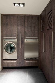 DUTCH Kitchens: MODERN style contemporary laundry room