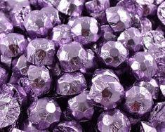 A bulk Foiled Chocolate Diamonds Lilac Box. Wedding Chocolates, Lilac, Purple, Blueberry, Diamonds, Bar, Fruit, Lilac Bushes, Lilacs