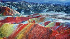 Chine : le site naturel le plus coloré du monde
