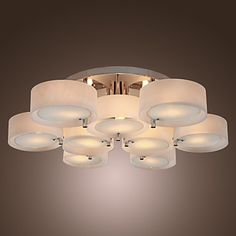 Acrylic+Chandelier+with+9+lights+(Chrome+Finish)+–+USD+$+379.99