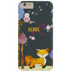 Shop Cute Woodland Fox Monogram Case-Mate iPhone Case created by Personalize it with photos & text or purchase as is! Iphone 6 Plus Case, Iphone Cases, Valentines Gifts For Her, Colorful Trees, Mobile Cases, Phone Cover, Woodland, Whimsical, Fox