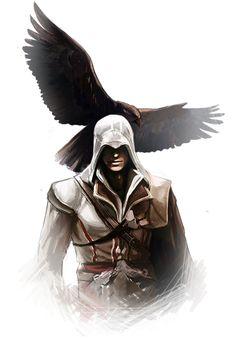 AC2: Ezio by RattledMachine.deviantart.com on @deviantART