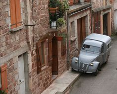 For some reason when we moved to France I always wanted a 2cv van in which I could dash to the airport to pick up the mates (preferably with a live chicken running around the back!) The 2cv van is still on the wishlist!