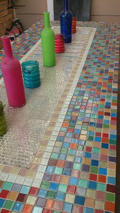 Mosaik tafel