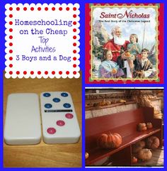 Homeschooling on the Cheap- love these ideas!