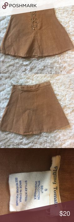 Corduroy Skirt Flying Tomato corduroy Skirt Size s. Tags taken off but never worn before!! Flying Tomato Skirts Mini