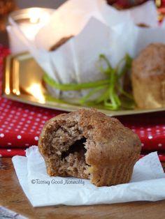 Tasting Good Naturally: Cinnamon Apple Muffins by lorrainelegay Desert Recipes, Raw Food Recipes, Patisserie Vegan, Gateaux Vegan, Apple Cinnamon Muffins, Healthy Deserts, Vegan Kitchen, D 20, Healthy Muffins