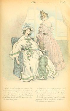 1836 - La mode pendant quarante ans de 1830 à 1870 by Louis Colas