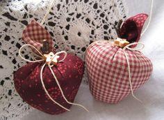 Weihnachtsbaumschmuck++Äpfel+im+Landhaus+-+Stil+von+Feinerlei+auf+DaWanda.com