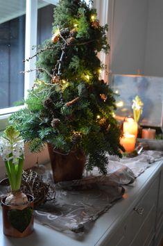 Kobberfargen passer godt til resten av interiøret. Lekkert med julens farger som ofte går i grønt og brunt med tanke på kongler og granbar. #kobber #jul #advent #christmasdecoration #juletre #diy #gjørdetselv Christmas Decorations, Christmas Tree, Holiday Decor, Plants, Home Decor, Teal Christmas Tree, Decoration Home, Room Decor, Christmas Decor