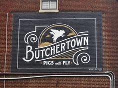 Butchertown Mural by Bryan Patrick Todd