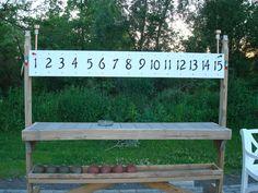 bocce ball scoreboard