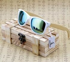 c80b380c8f New Luxury Coated Sunglasses for Men and Women Bamboo Wood Holder Polarized  Lens Sunglasses with Wood Box Driving Sunglasess Specification  Frame  Material