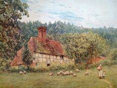 painting by Helen Allingham