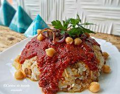 Koshari - orez cu linte