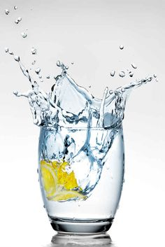 """""""Always drink a glass of water before eating."""" 