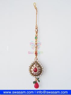 Indian Jewelry Store | Swasam.com: Tikka with Perls and White Stones - Tikka - Jewelry Shop to Buy The Best Indian Jewelry  http://www.swasam.com/jewelry/tikka/tikka-with-perls-and-white-stones-1447.html?___SID=U  #indianjewelry #indian #jewelry #tikka