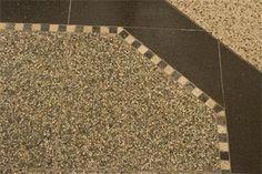 Foto Granito Terrazzo Tegel bijzonder met BETON-CIRE Doe-het-zelf en Verbouw Tegels