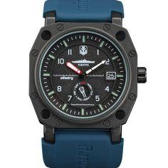 Us Infantry World Of Tanks Mens Quartz Wrist Watch Date Day Luminous Blue Rubber