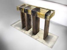 Wood Fossil Collection, gli arredi fossilizzati di Nucleo a Pad London 2012