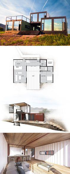 Canon city container cabin, Clorado