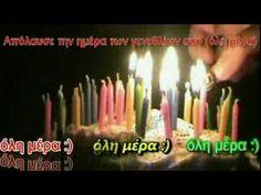 Birthday Candles, Youtube, Happy Birthdays, Music, Musica, Musik, Muziek, Music Activities, Youtubers
